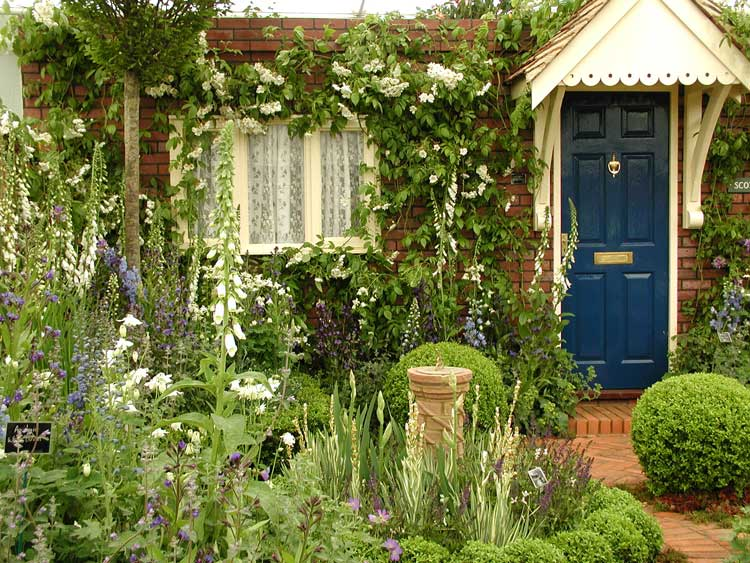 Victorian garden design ideas the new technology of for Formal front garden ideas