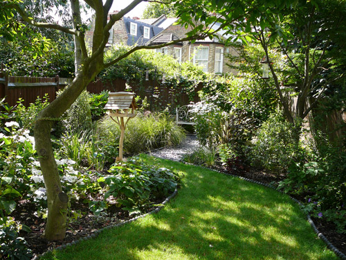 Victorian garden design ideas the new technology of for Terraced house garden ideas