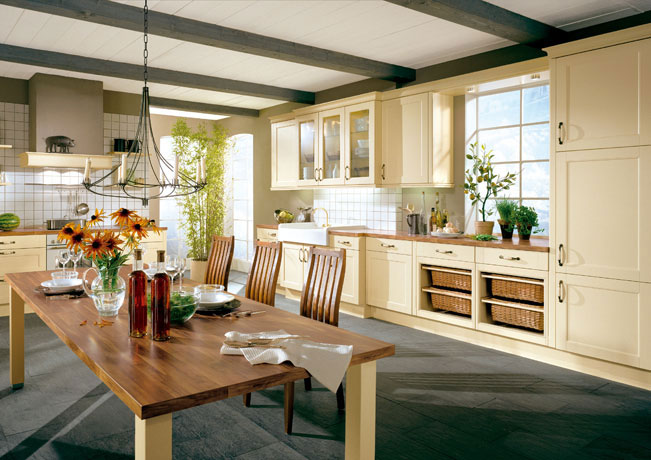 Country Cottage Kitchen Design Photo 11