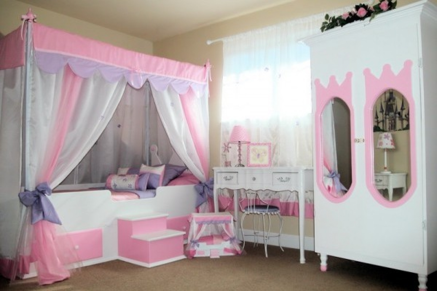 A Guide to Choosing Bedroom Furniture for a Girl - Top 10 Cool ...