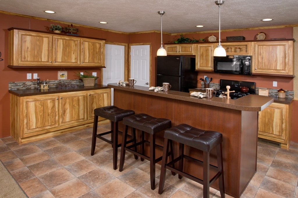 Kitchen design ideas for mobile homes make it simple and for Home remodel ideas kitchen