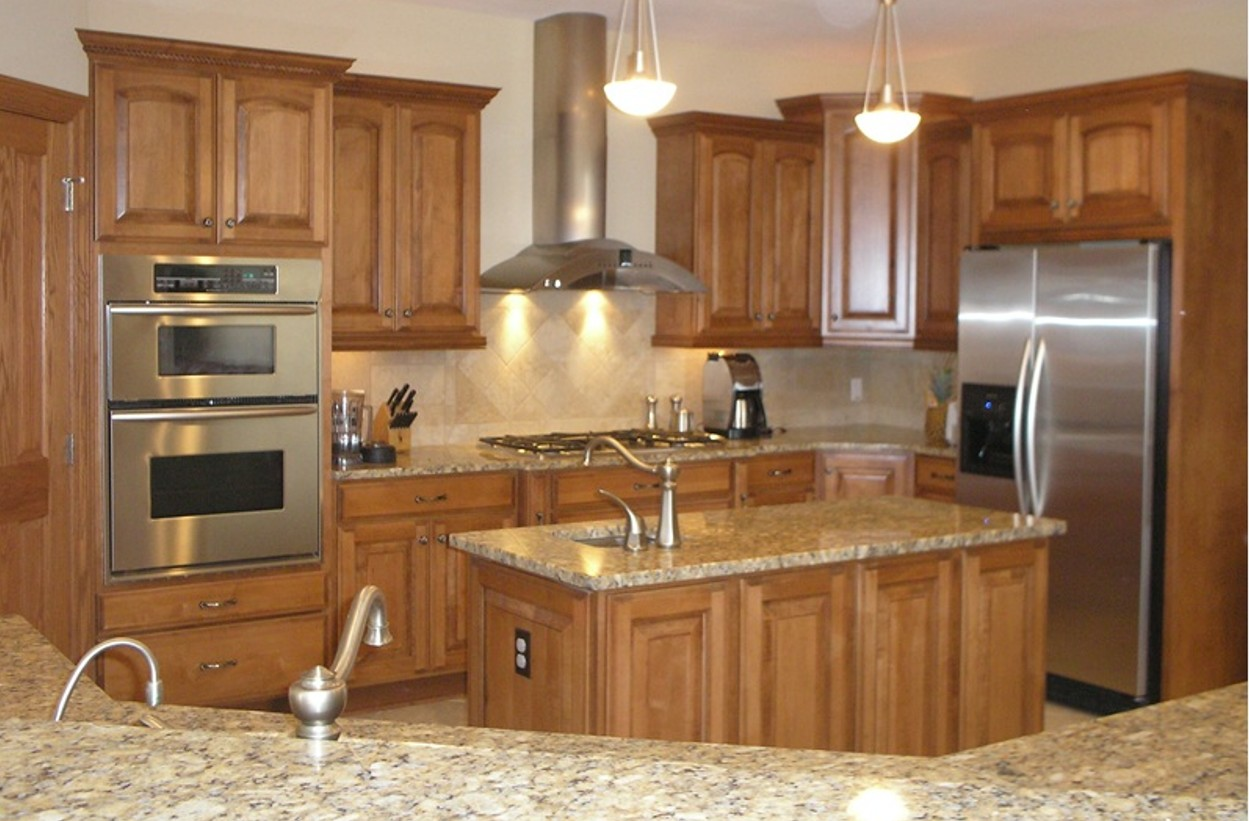 Kitchen design ideas for mobile homes make it simple and for Kitchen remodel design ideas