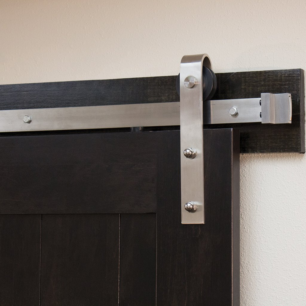 21 exciting ways to use sliding door hardware to spruce up for Exterior sliding barn door hardware