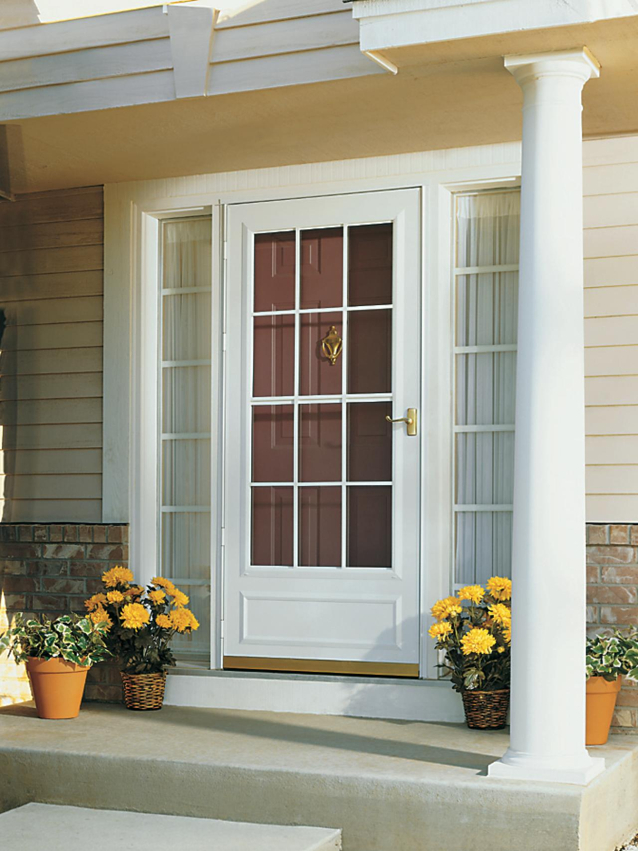 20 Storm Doors Hardware Amp Storm Doors With Pet Door