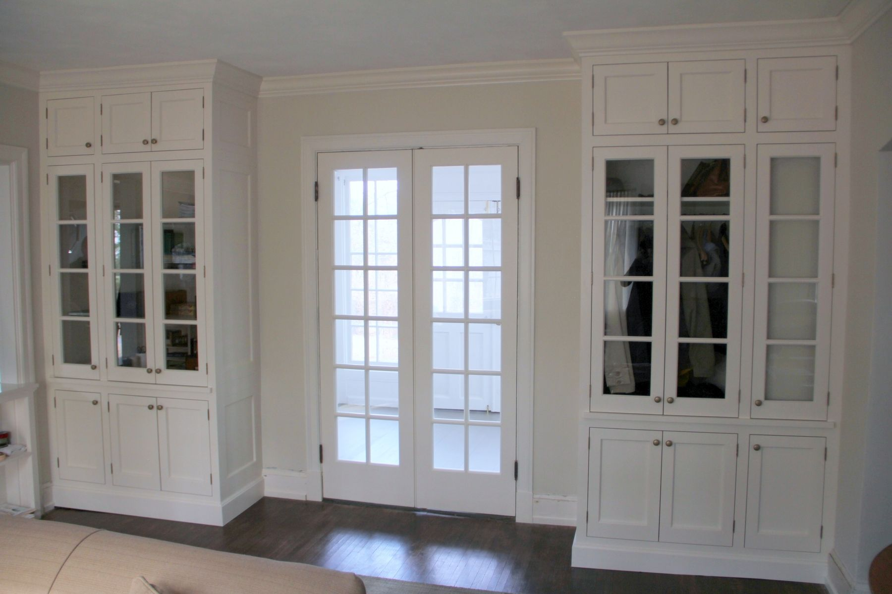 Top 20 custom and classic french doors with dog door for French door with dog door
