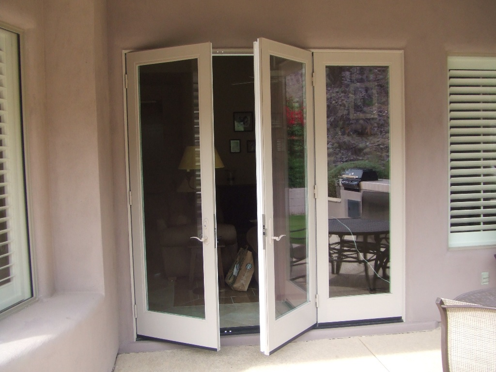 Top 20 custom and classic french doors with dog door for Can you put screens on french doors