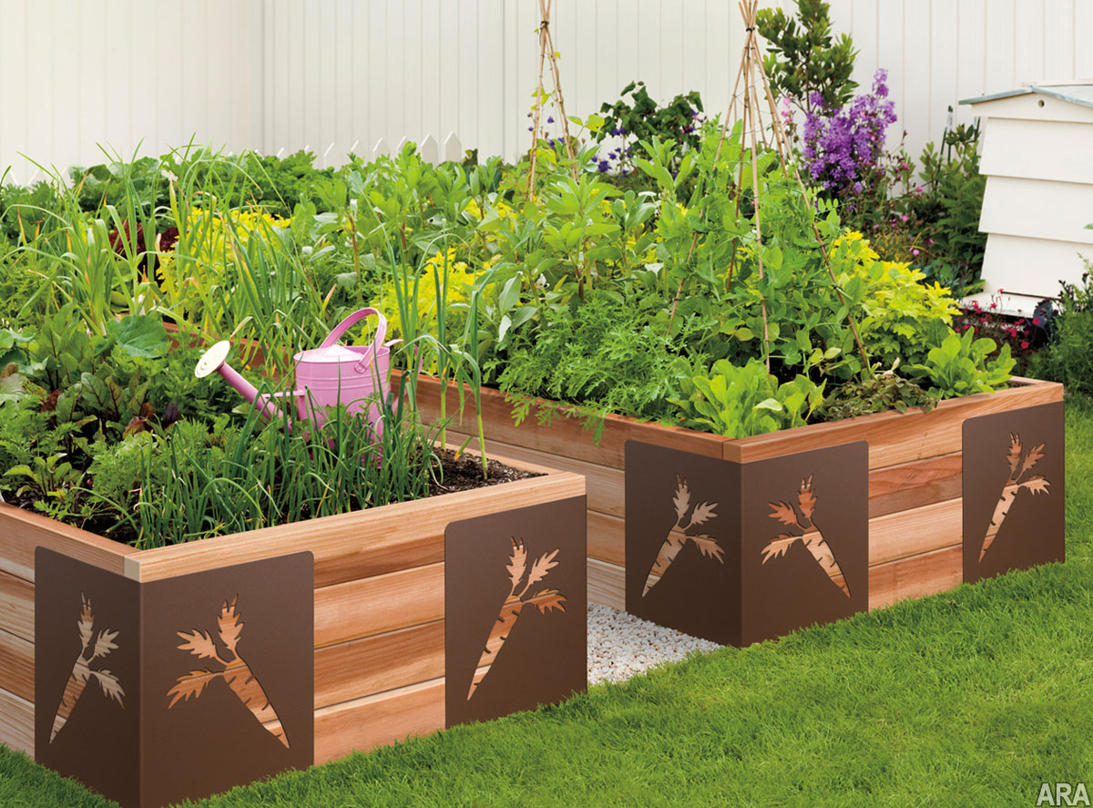 20 vegetable garden box ideas for 2018 interior for Vegetable garden ideas