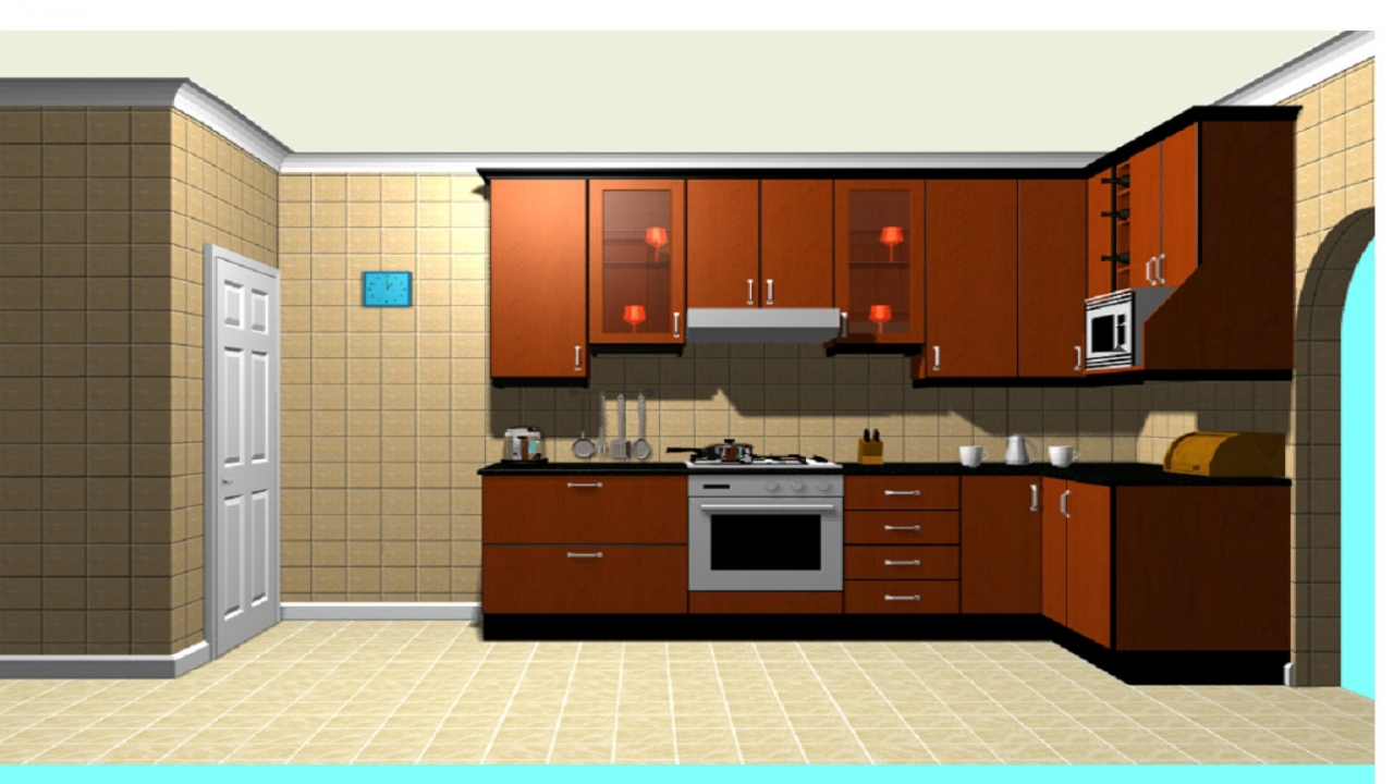 10 x 10 u shaped kitchen photo - 4