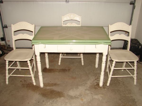 1930s kitchen chairs photo - 5