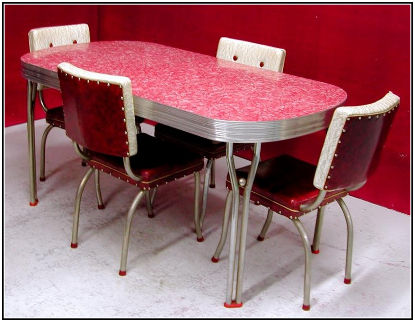 Retro Kitchen Table Chair Set Ikea