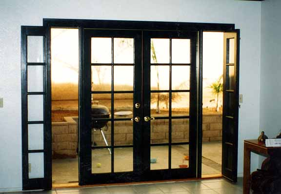 4 foot french doors exterior photo - 4