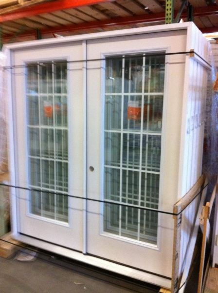5 foot exterior french doors photo - 6