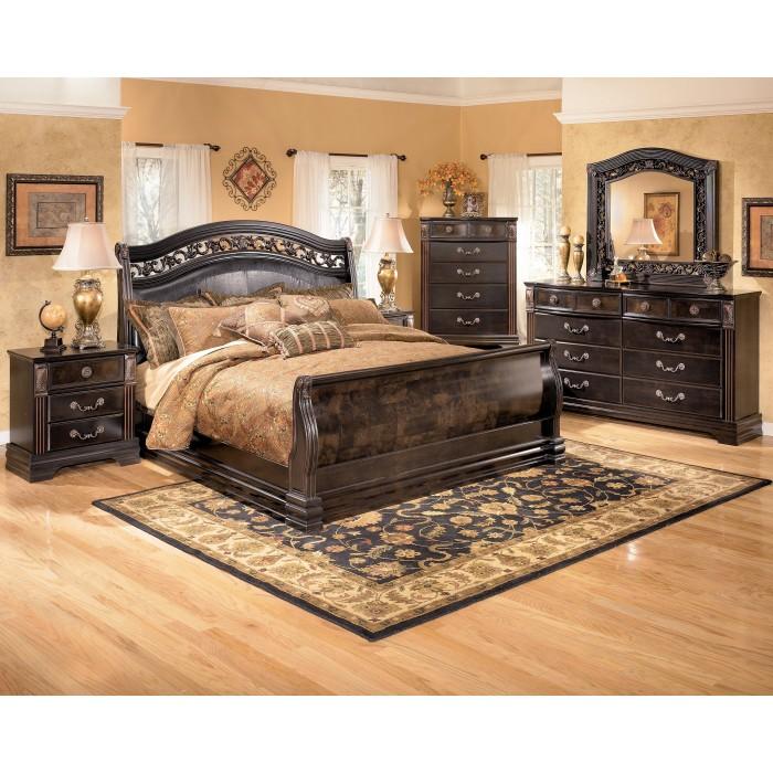 7 piece king bedroom furniture sets photo - 2