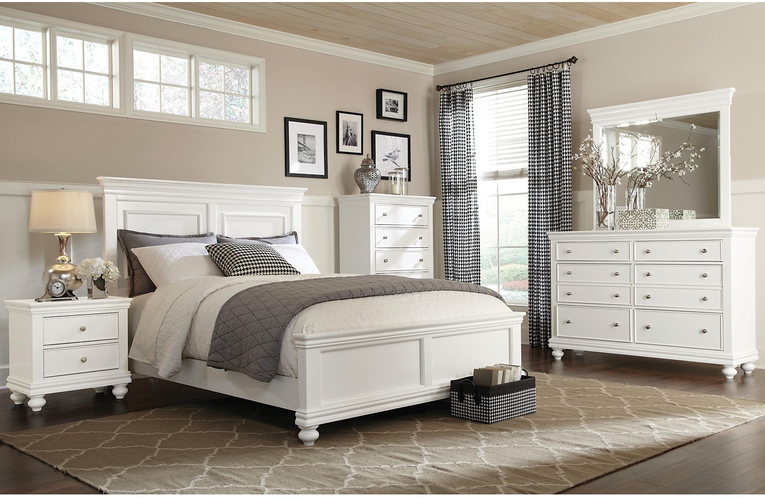 7 piece king bedroom furniture sets photo - 3
