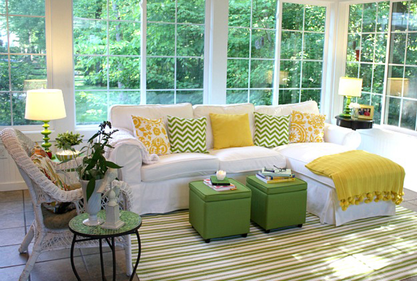 Citrus Living Room photo - 4