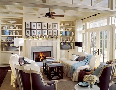 Countrystyle Living Room Design photo - 5