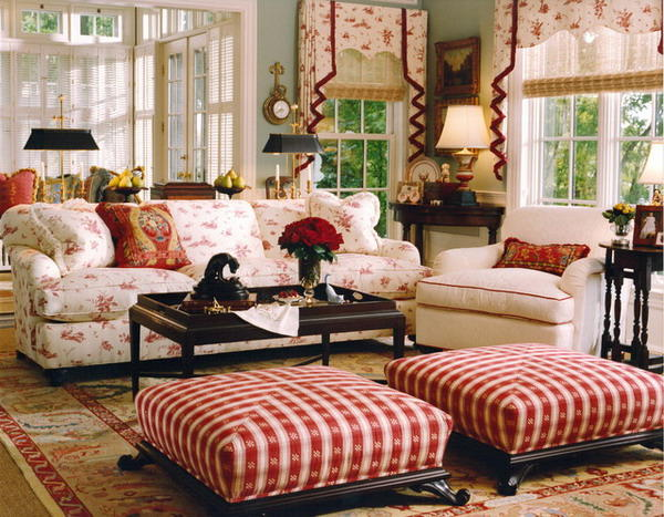 Countrystyle Living Room Design photo - 6