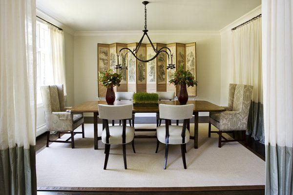 Dining Room with Interior Light Design photo - 2