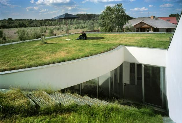 Eco House Grass Roof photo - 2