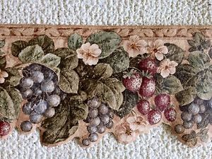 Fruity Wallpaper on an Old-Fashioned Kitchen photo - 5