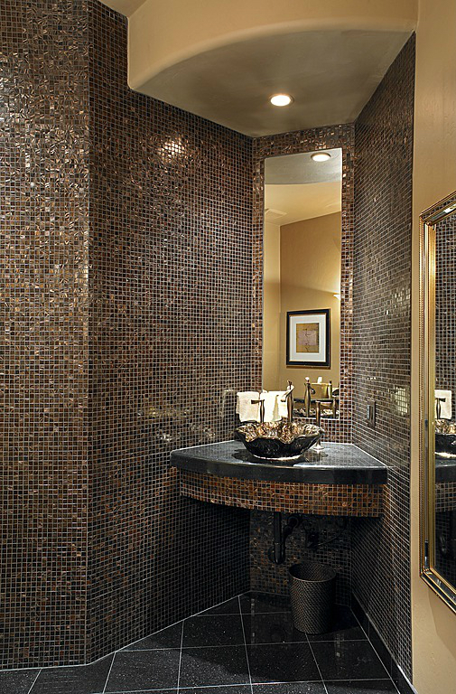 Gold Bathroom Idea photo - 1