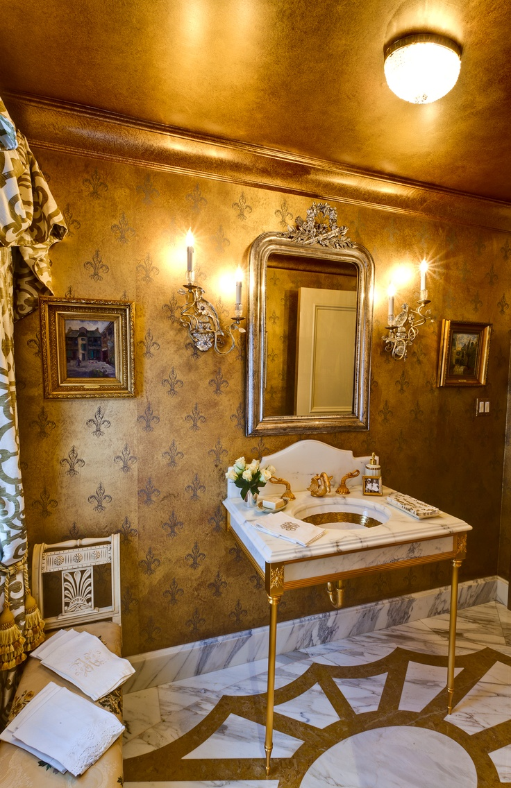 Gold Bathroom Idea photo - 6