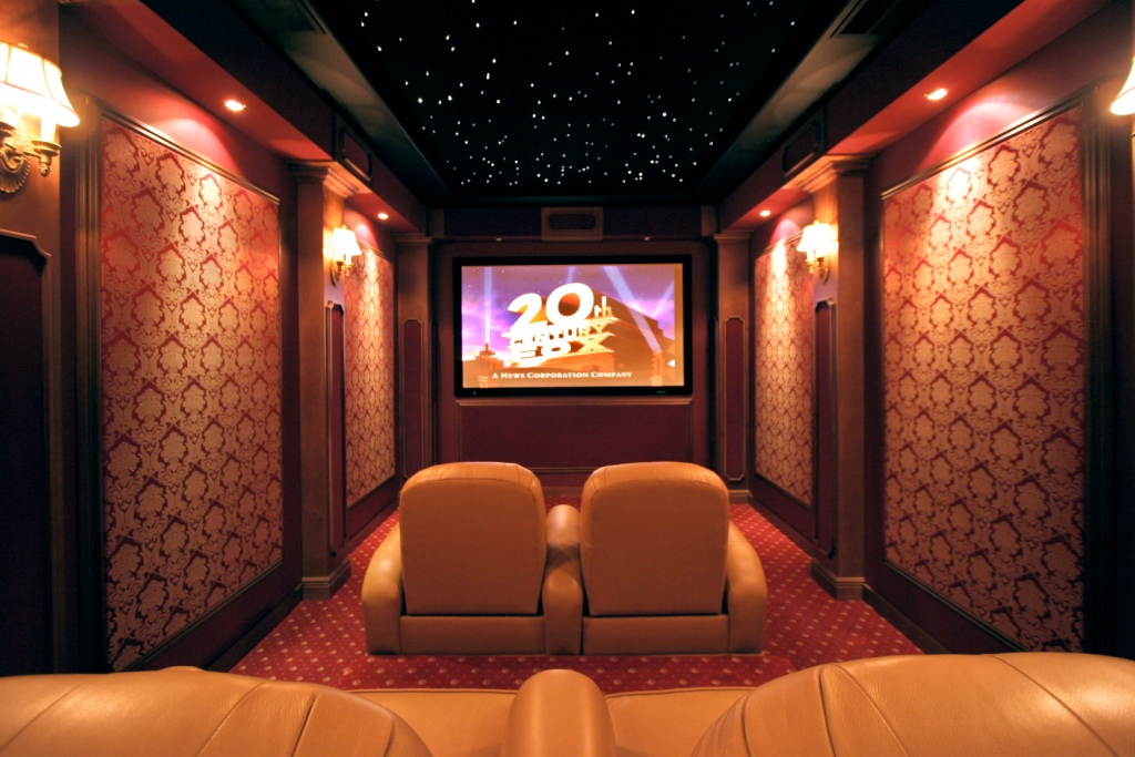 Home Theater Design photo - 3
