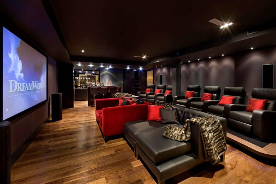 Home Theater Design photo - 4