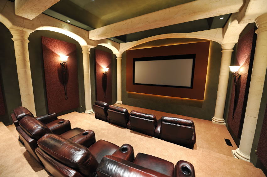 Home Theater Design photo - 5