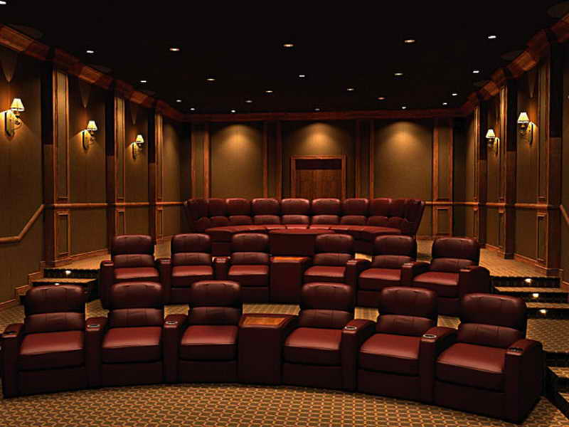 Home theater design 10 ways to set up the general nature - Interior design for home theatre ...