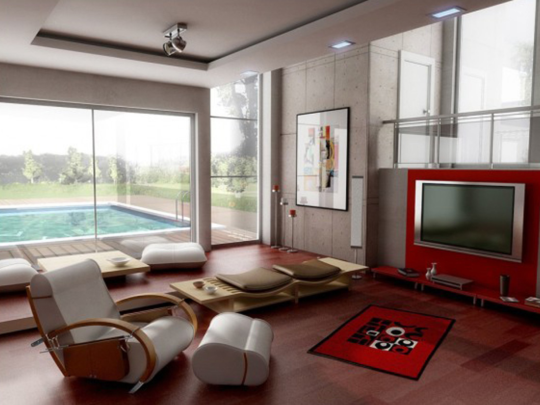 Impressive Living Room Interior Design photo - 1