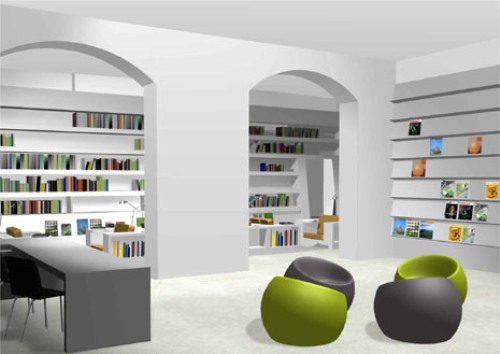 Library Interior Design photo - 5