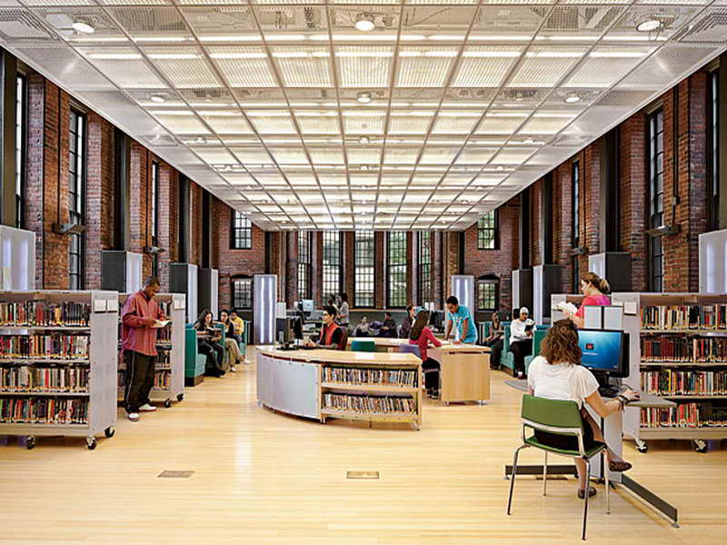 Library Interior Design Ideas photo - 5