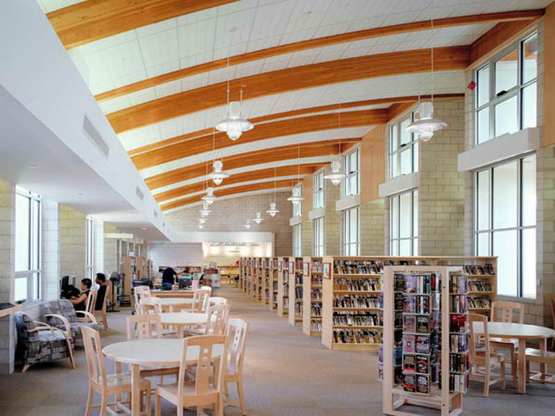 Library Interior Design Planning photo - 1