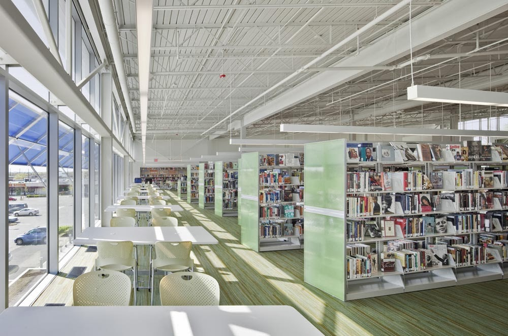 Library Interior Design Planning photo - 2
