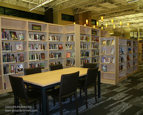 Library Interior Design Planning photo - 3