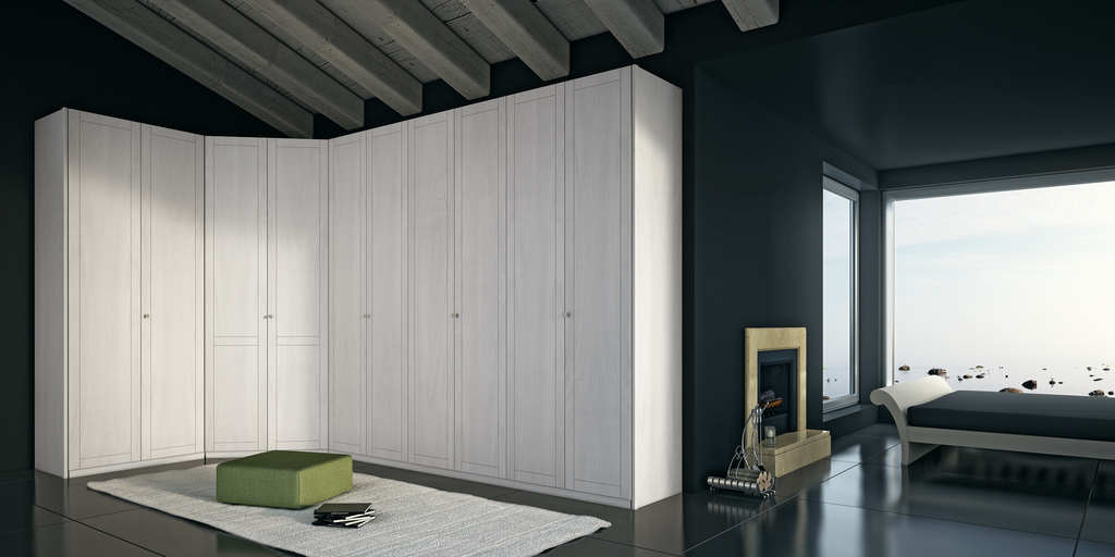 Mazzali 900 Wallpaper Wardrobe Cabinet photo - 4