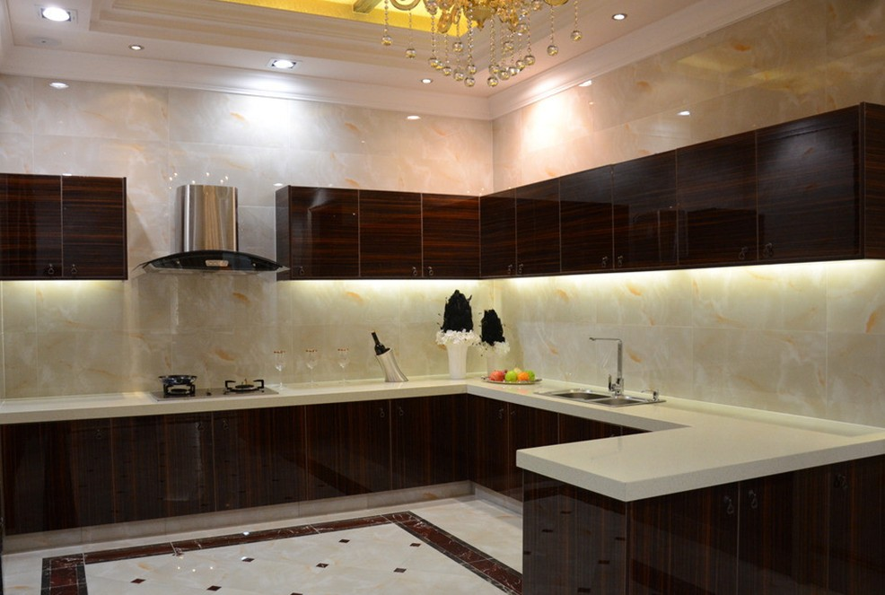 medium sized kitchen interior design concept - Interior Design Kitchen