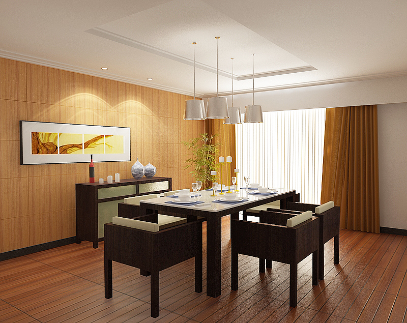 Modern Dining Room photo - 4
