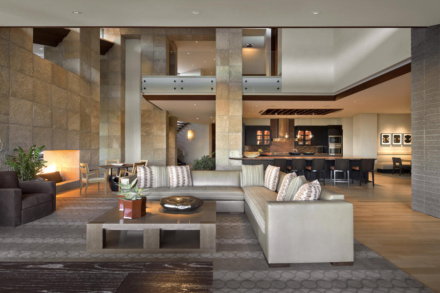 Modern Luxury Living Room photo - 1