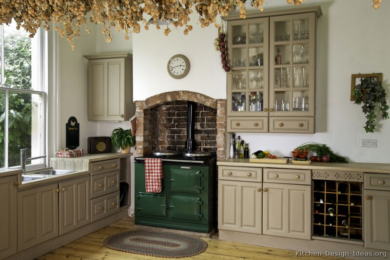 Old Fashioned Gray Kitchens photo - 4