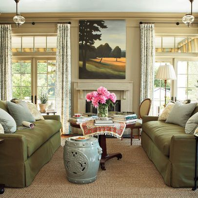 Perfect Symmetry Living Room photo - 2