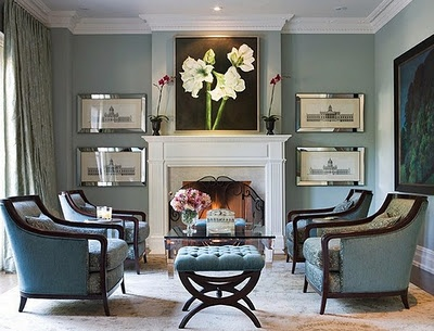 Perfect Symmetry Living Room photo - 4