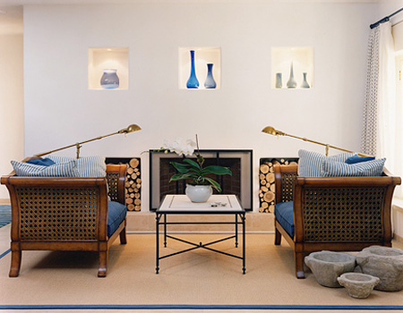 Perfect Symmetry Living Room photo - 5