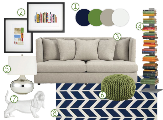 Preppy Pallete Living Room photo - 1