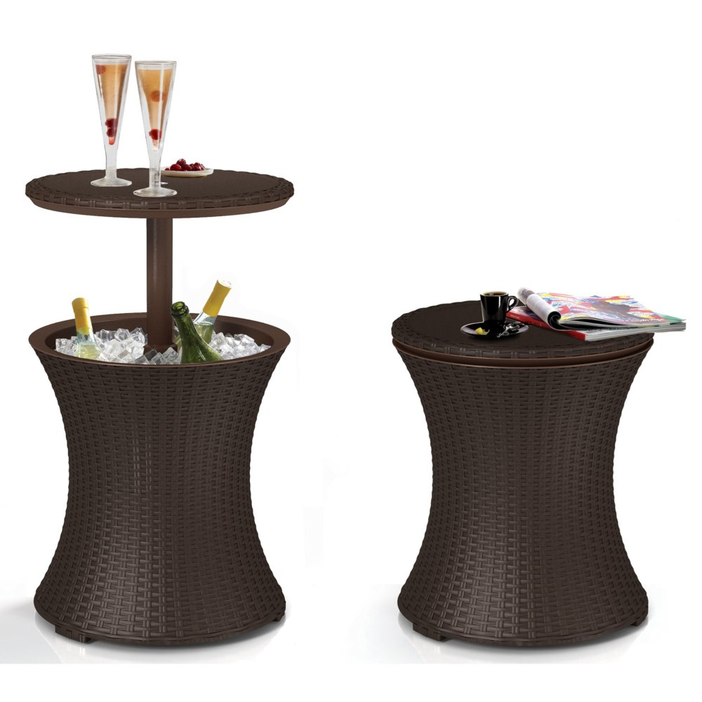 Rattan Bar Table photo - 1