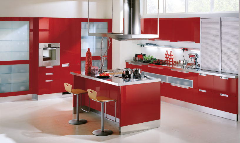Red Kitchen photo - 2