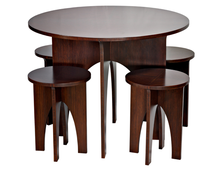 Small Circle Dining Room Table photo - 4