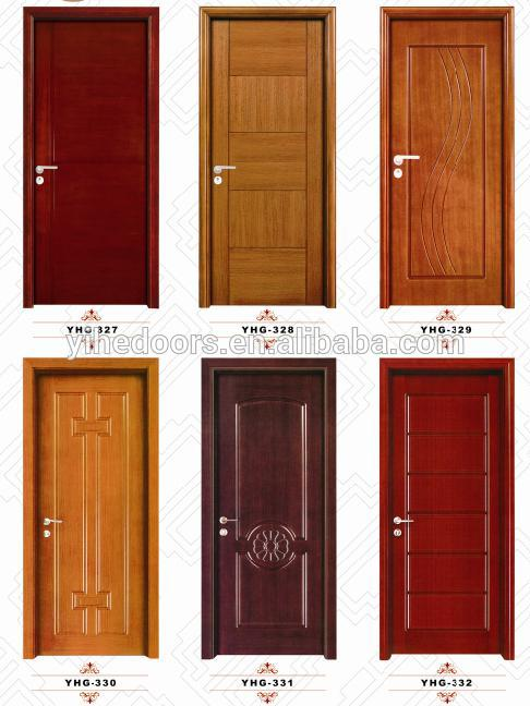 Solid Wood Single Door Design photo - 3
