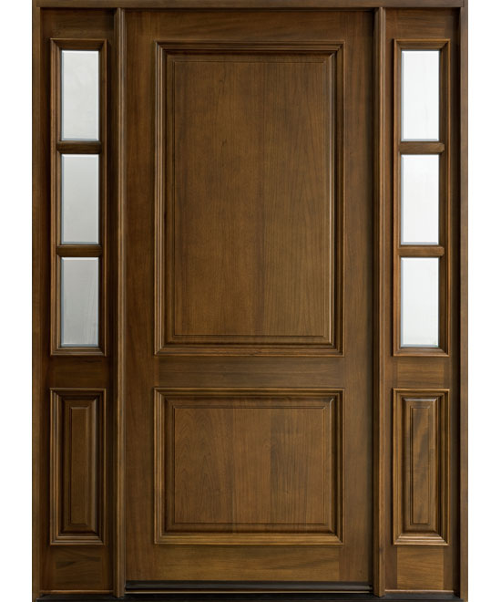 Solid Wood Single Door Design photo - 4